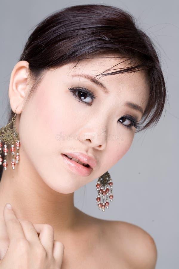азиатская красотка стоковое изображение rf