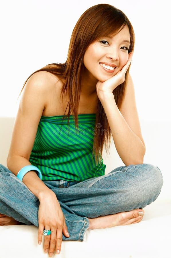 азиатская красотка стоковая фотография