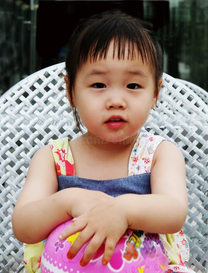 азиатская милая девушка стоковое изображение