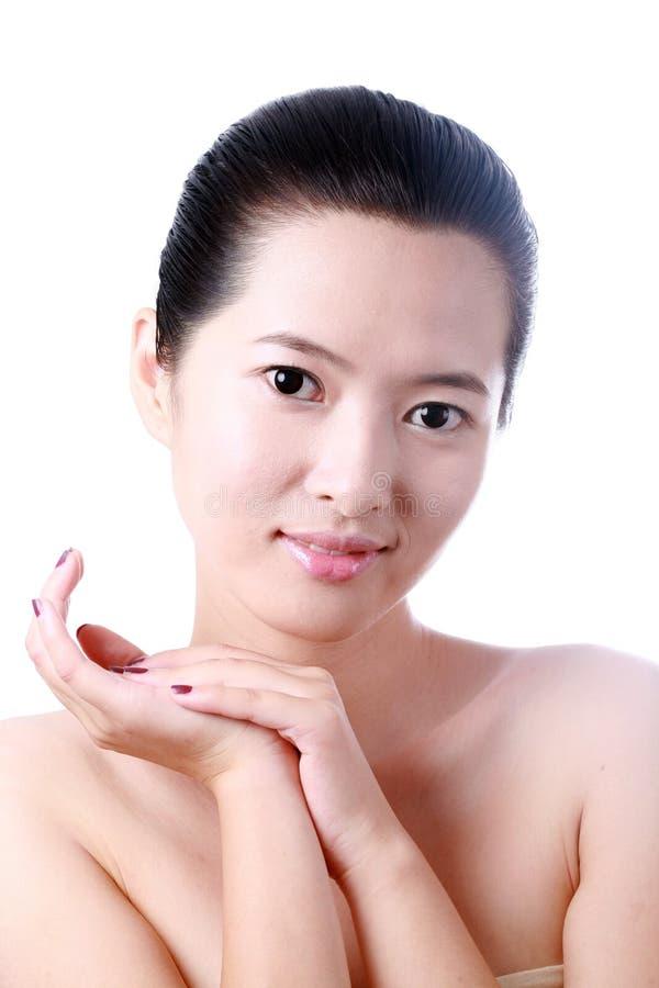 Азиатская молодая женщина стоковая фотография rf