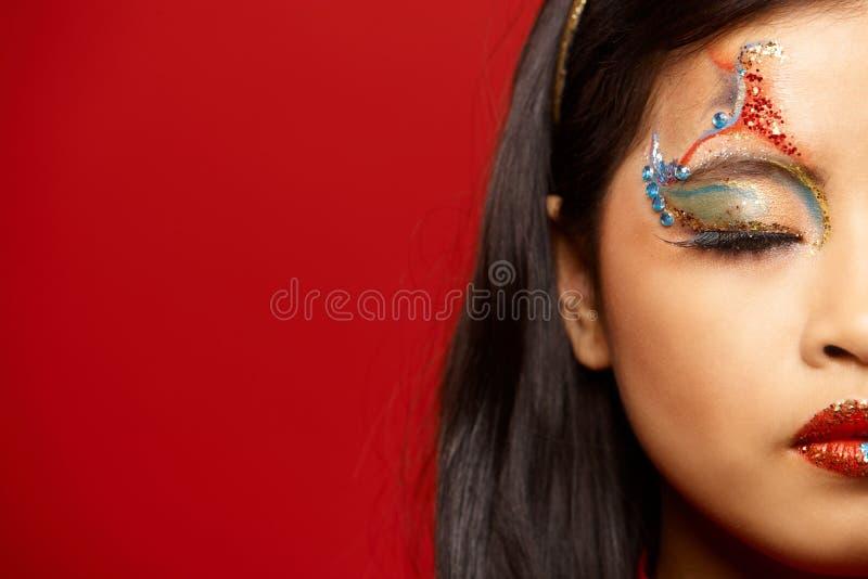 азиатская пластмасса куклы стоковые фото