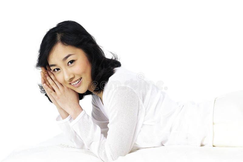 азиатская повелительница стоковая фотография