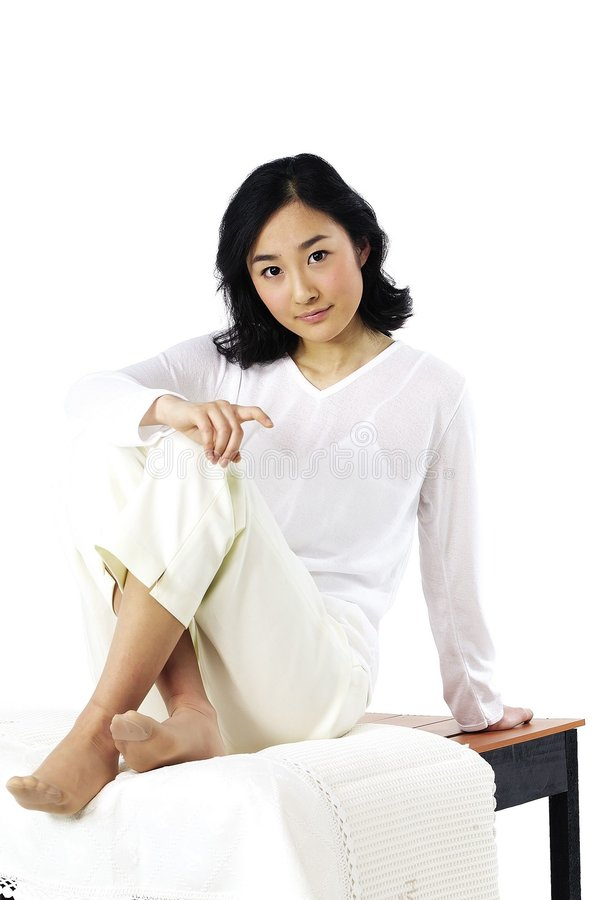 азиатская повелительница стоковые изображения
