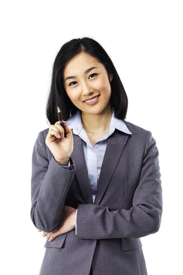 азиатская повелительница стоковая фотография rf
