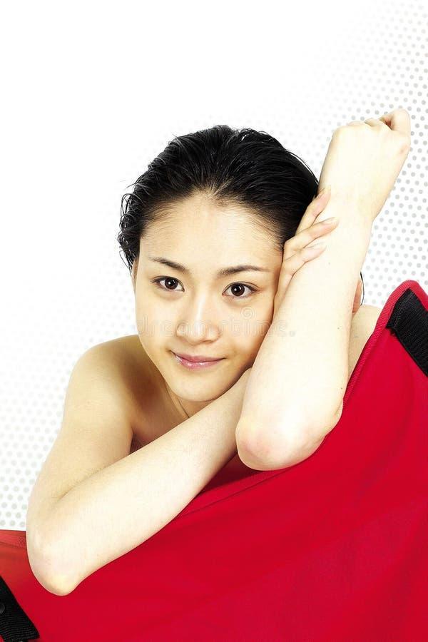 азиатская повелительница стоковое изображение
