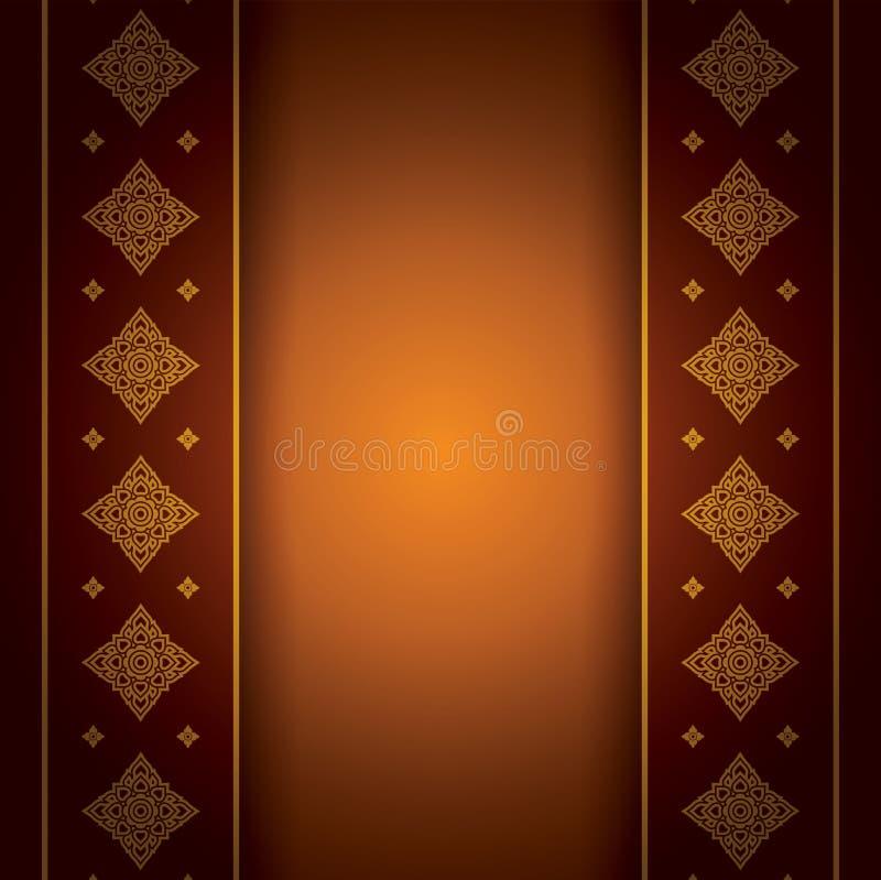 Азиатская предпосылка искусства. иллюстрация вектора
