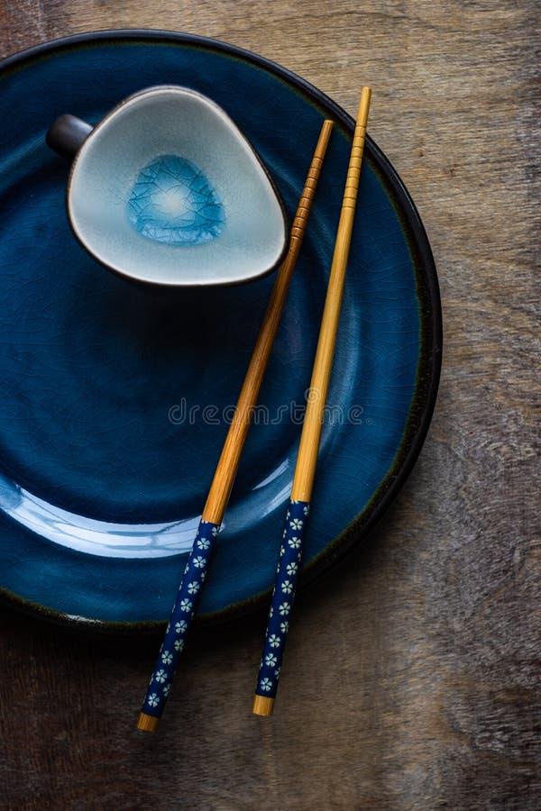 Азиатская сервировка стола стоковые фотографии rf