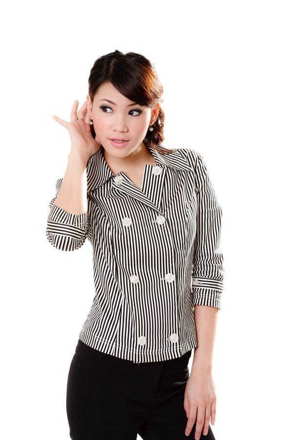 азиатская сладостная женщина стоковое изображение rf