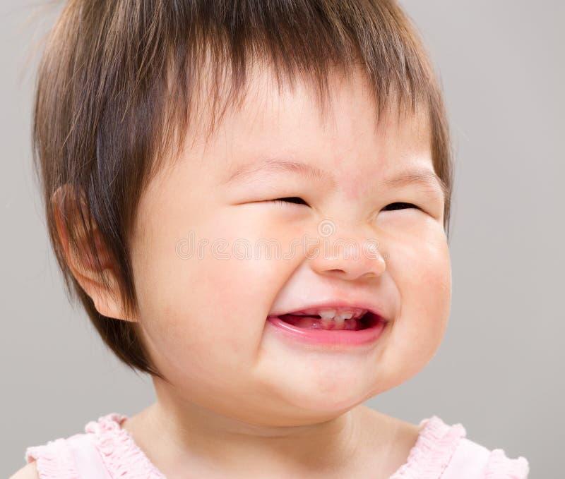 Азиатская счастливая девушка стоковое фото