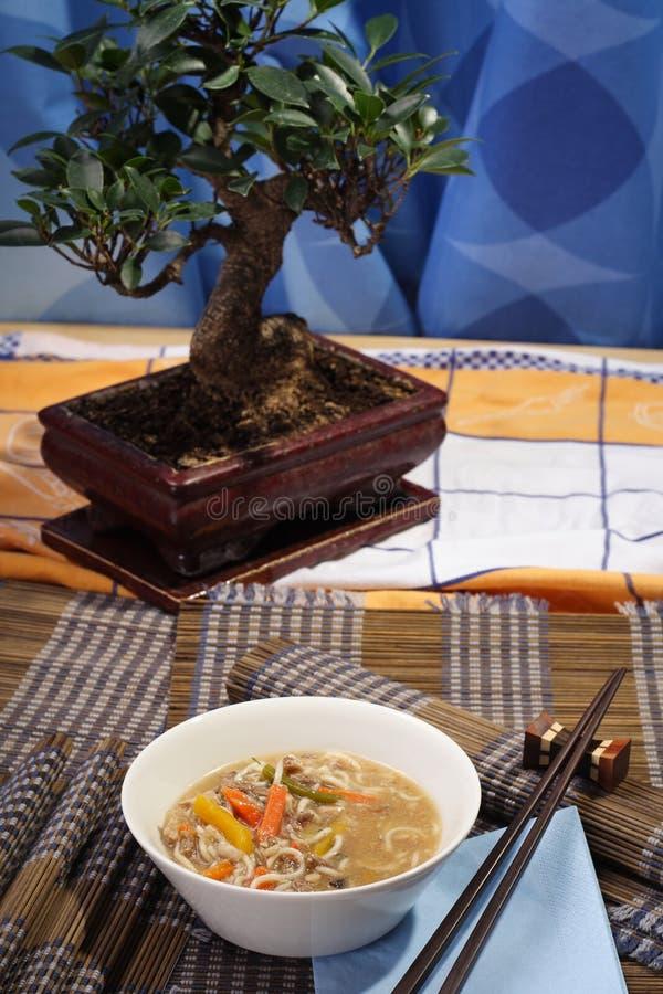 азиатская украшенная таблица типа стоковое фото rf