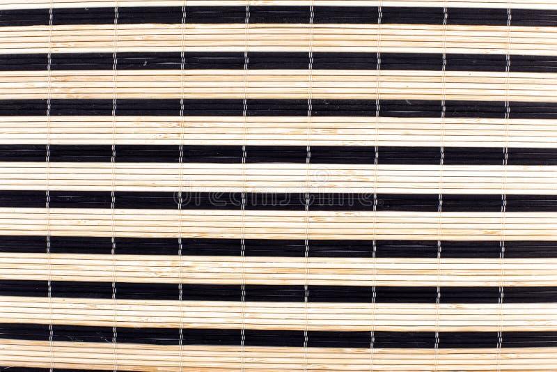 азиатская bamboo циновка традиционная стоковые изображения rf