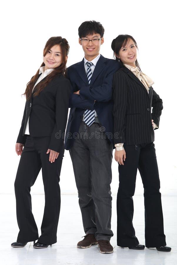 азиатские бизнесмены молодые стоковая фотография rf