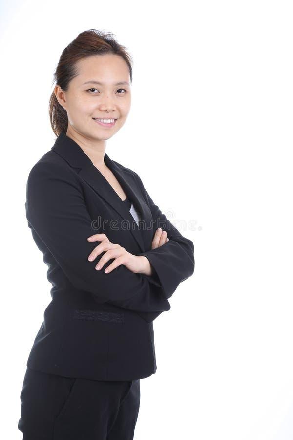 Азиатские бизнес-леди стоковое фото rf