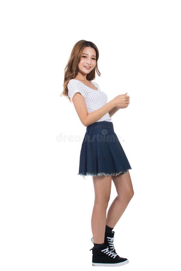 азиатские детеныши девушки стоковое фото rf