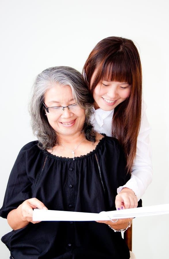 азиатские женщины стоковое изображение rf