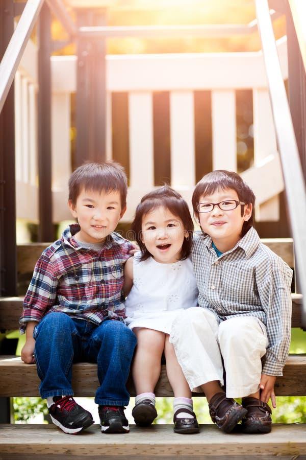 азиатские малыши стоковая фотография rf