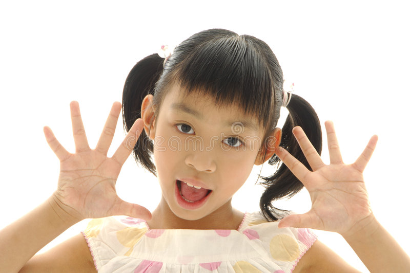 азиатские малыши стоковые фотографии rf