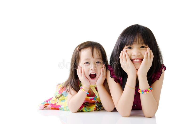 азиатские малыши стоковая фотография