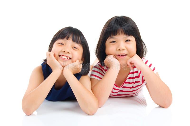 азиатские малыши стоковые изображения rf