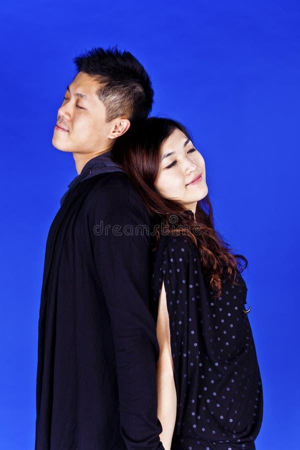 Азиатские пары ослабляют совместно стоковое изображение rf