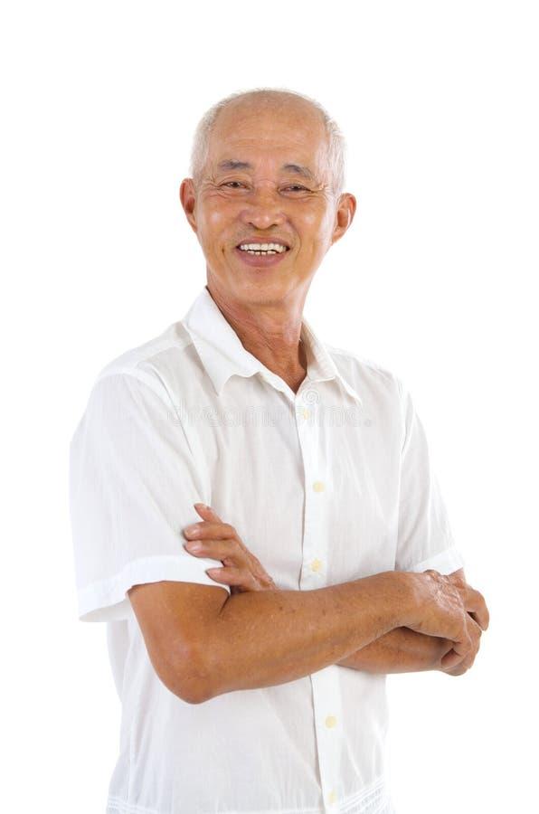Азиатские старшие люди стоковые изображения rf