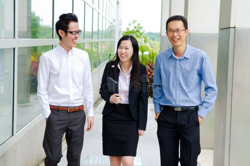 Азиатские люди дела стоковые фото