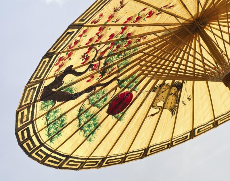 азиатский зонтик детали стоковое изображение rf