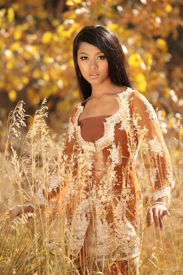 азиатский индонеец девушки стоковое изображение