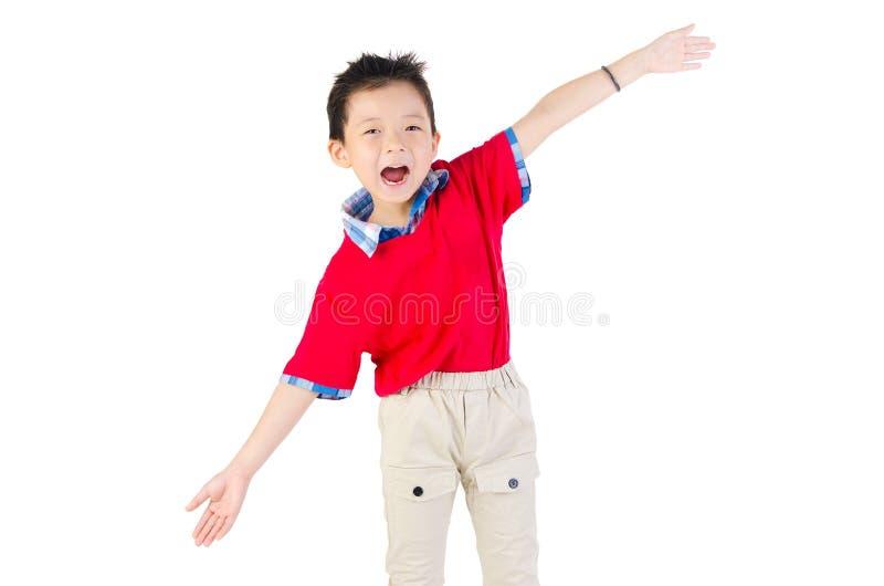 Азиатский китайский мальчик стоковое изображение