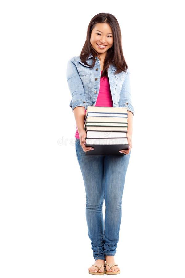 азиатский красивейший студент колледжа стоковые фото