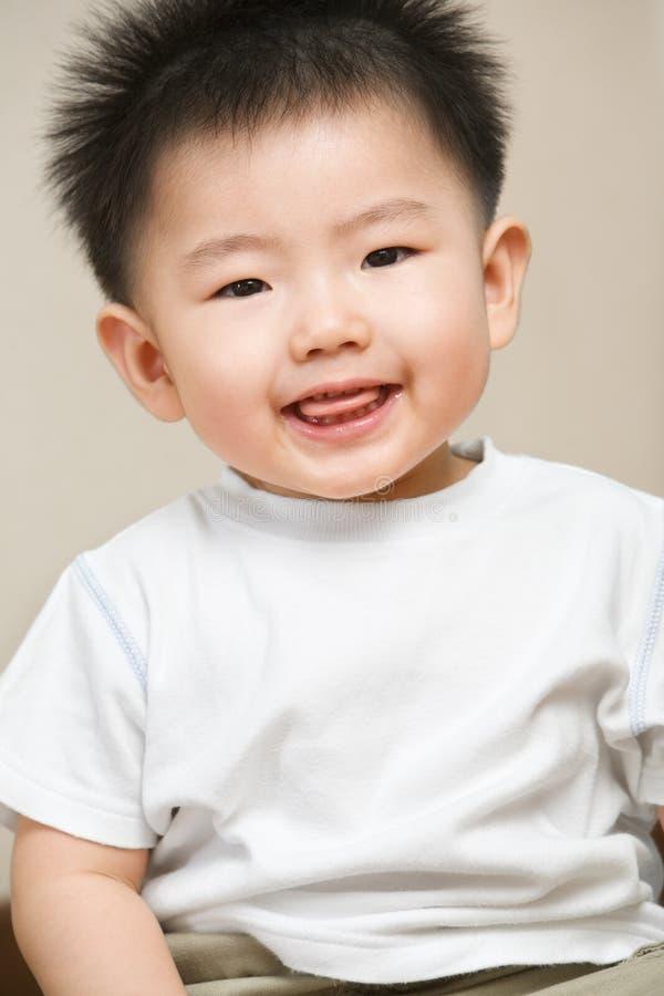 азиатский малыш выражения стоковая фотография