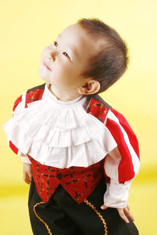 азиатский мальчик немногая стоковое изображение