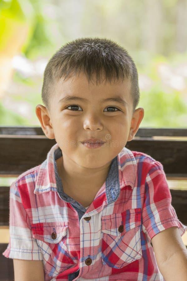 азиатский мальчик немногая стоковое фото