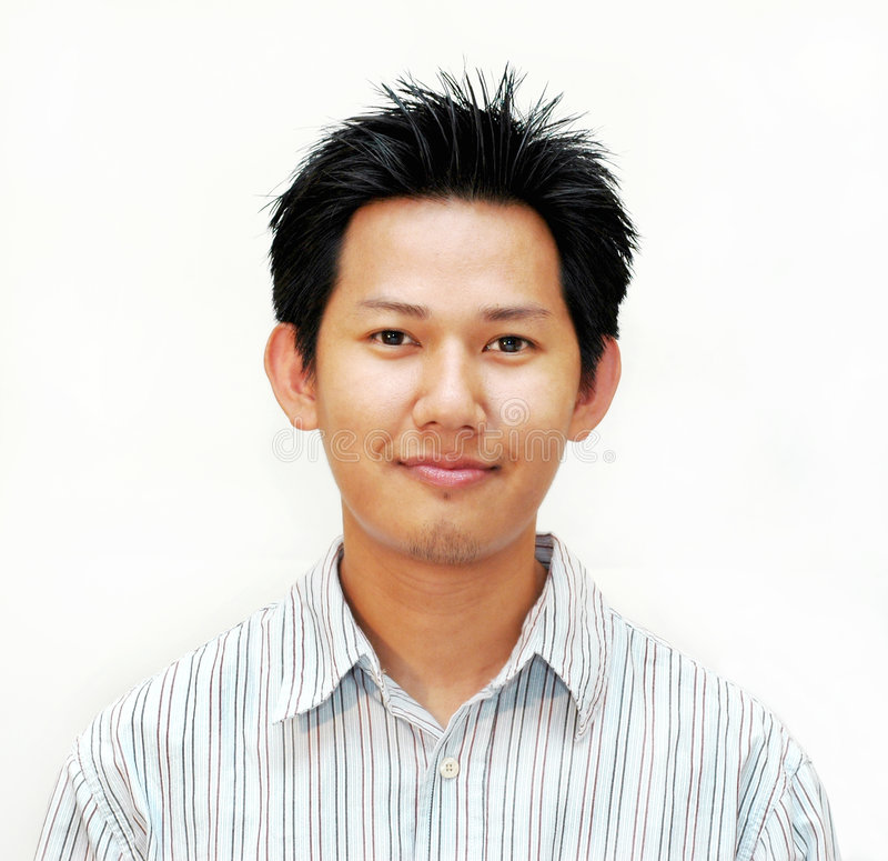 Download азиатский мыжской портрет стоковое фото. изображение насчитывающей рубашка - 165482