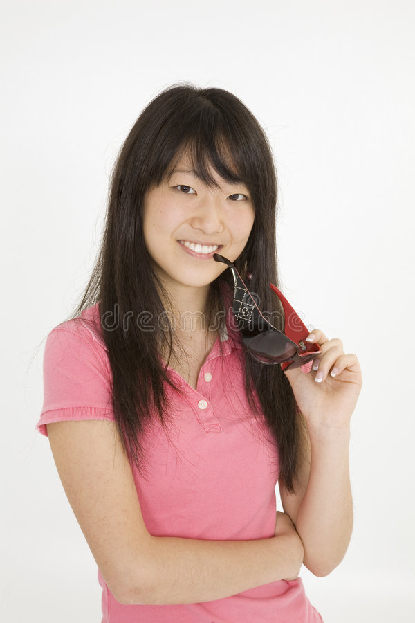 азиатский подросток стоковые изображения rf