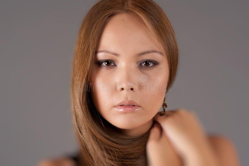 азиатский портрет девушки стоковое фото rf