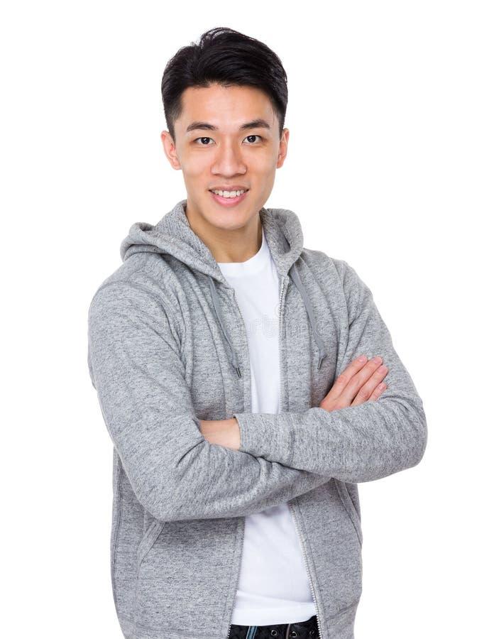 азиатский портрет человека стоковая фотография