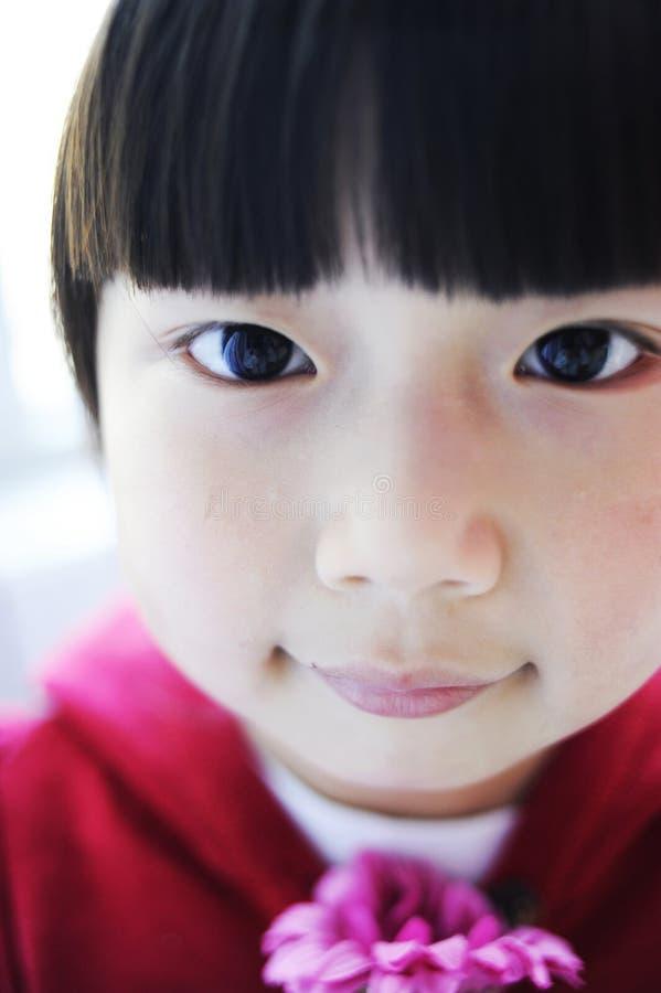 Азиатский ребенок стоковая фотография