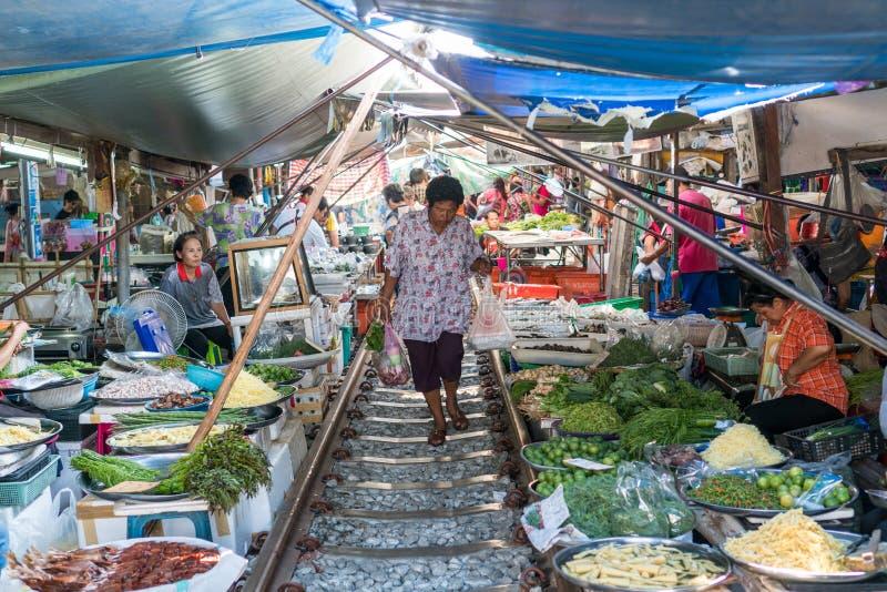 азиатский рынок стоковые фотографии rf