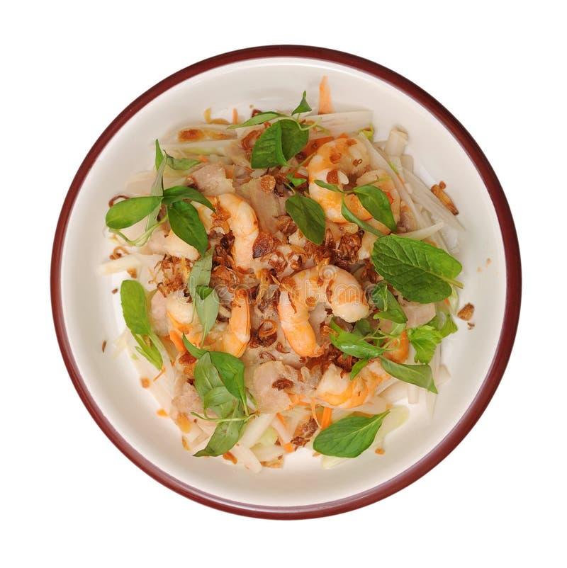 Азиатский салат стоковая фотография