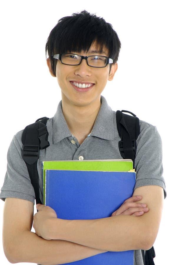 азиатский студент стоковое изображение