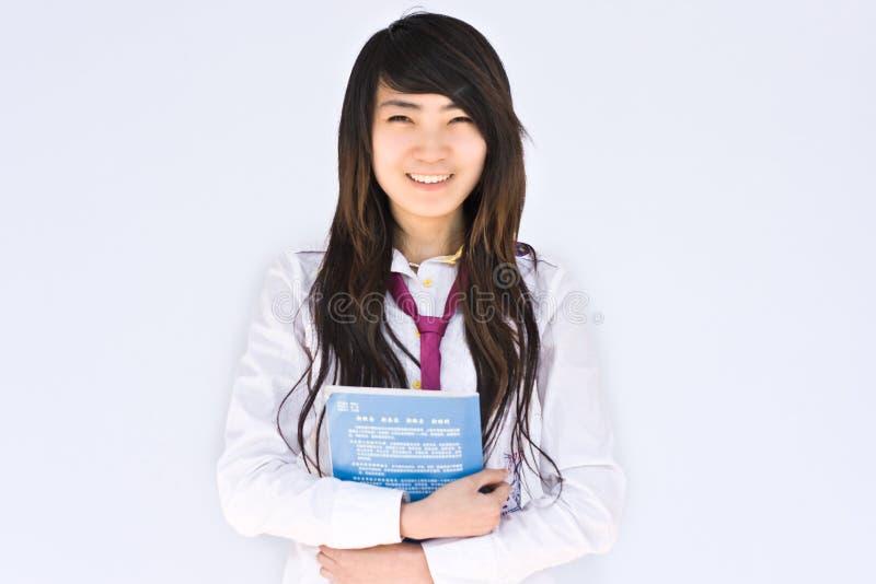 азиатский студент Famale Стоковые Изображения RF