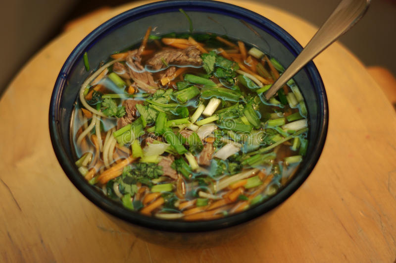 азиатский суп стоковое фото rf