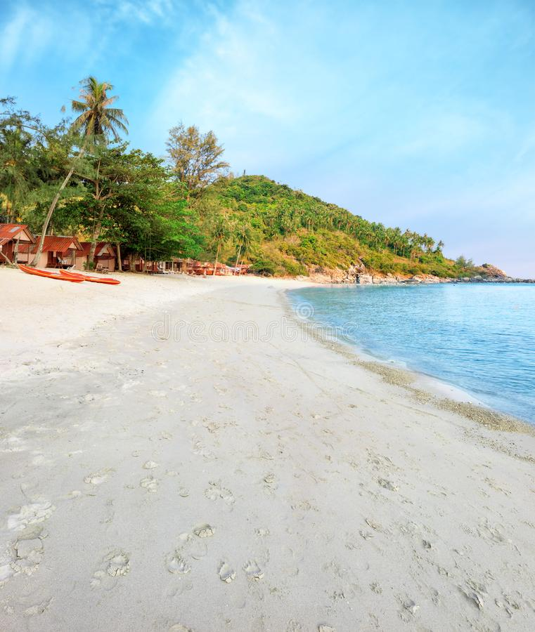 Азиатский тропический рай пляжа стоковое изображение