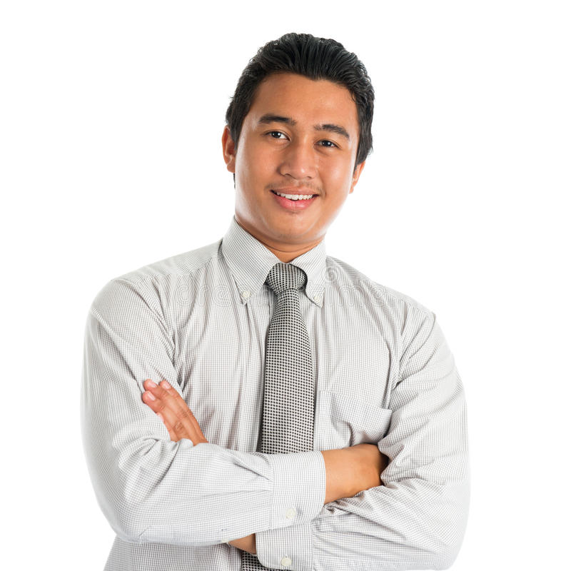 азиатский усмехаться мужчины стоковое фото rf