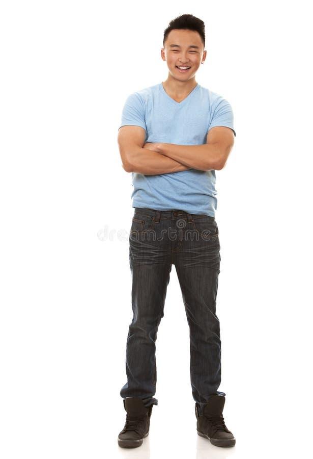 Азиатский человек стоковое изображение