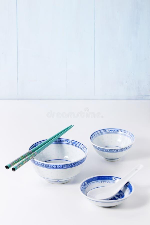 азиатский tableware типа стоковые изображения rf