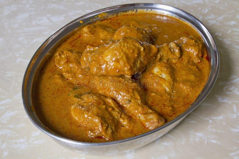 азиатское карри цыпленка стоковое фото