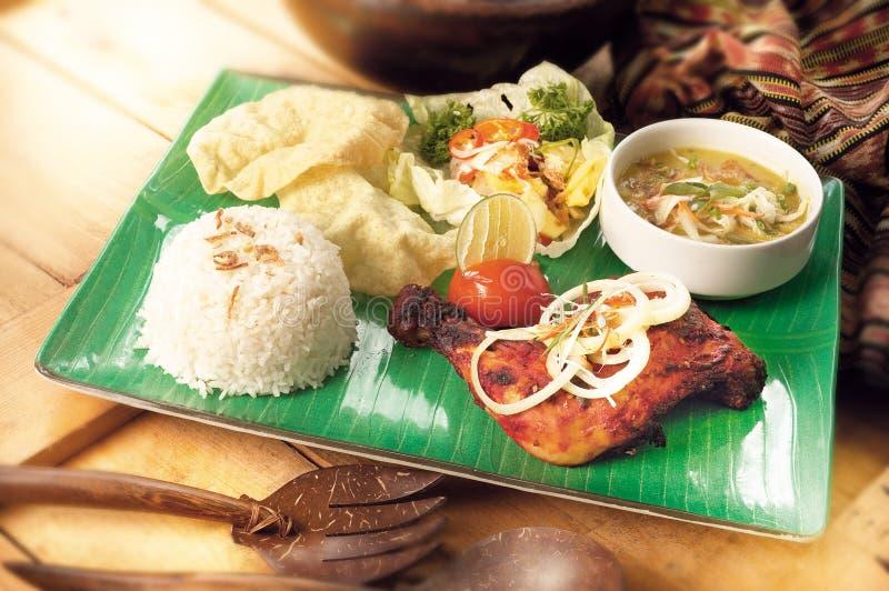 азиатское tandoori еды цыпленка стоковое изображение