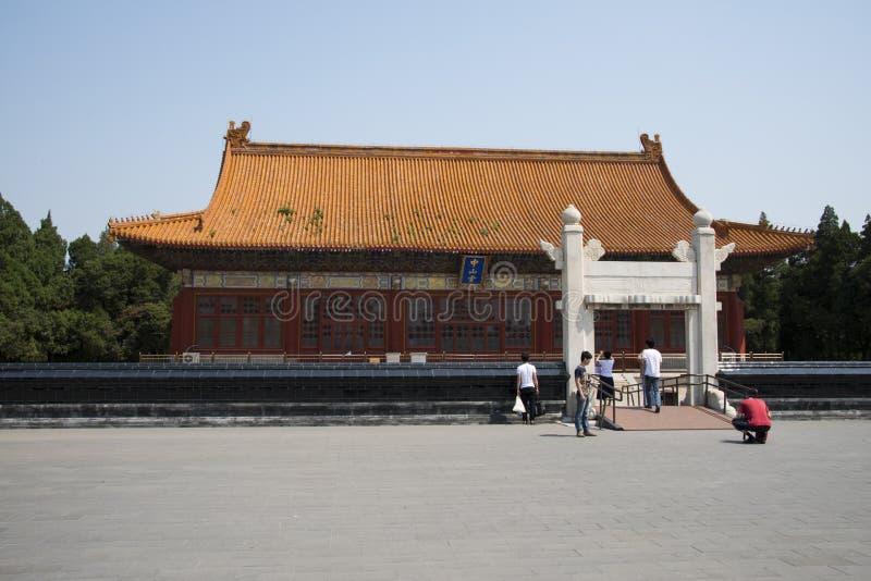 Азиат Китай, Пекин, парк Zhongshan, Zhongshan Hall стоковое изображение rf
